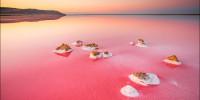 Розовое озеро