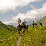 Прогулки верхом на лошади